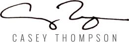 Casey Thompson Artist Logo